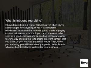 What is Inbound Recruitment